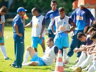 ESPORTES . BELO HORIZONTE , MG  ESPECIAL TIMES DE BASE  Treino do time de base do Cruzeiro  FOTO: LINCON ZARBIETTI / O TEMPO / 30.12.2014