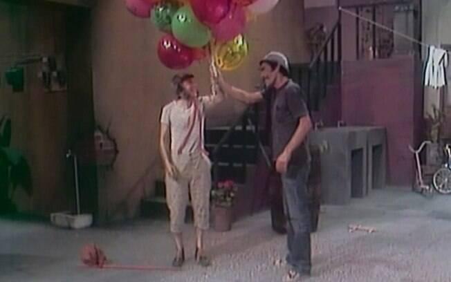 Cena do seriado O Chaves que podem ter inspirados filmes famosos