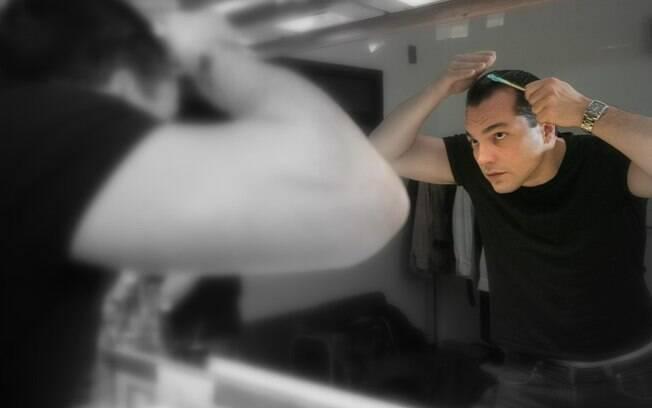 O ator começa a se preparar para viver Juan Péron no palco