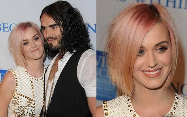 Katy Perry e seu novo corte de cabelo