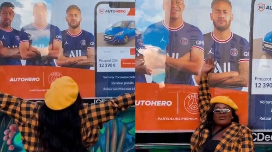 Jojo Todynho procura por Neymar em Paris