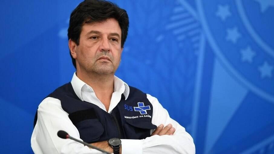 Ex-ministro da saúde, Luiz Henrique Mandetta (DEM)