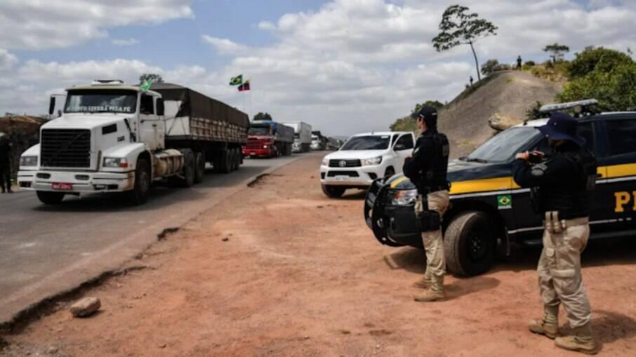 A carga era avaliada em R$ 162 mil