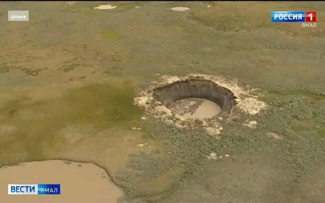 Cratera rússia