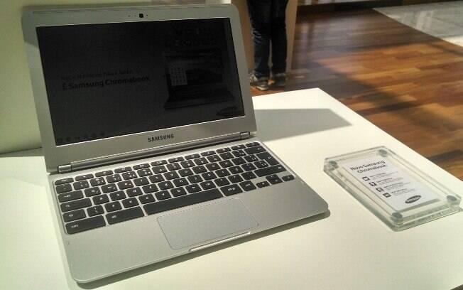 Chromebook da Samsung chega ao Brasil por R$ 1.099