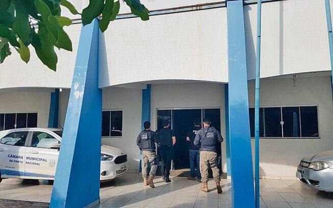 Operação Poker Face prendeu três vereadores e um secretário no interior do Tocantins