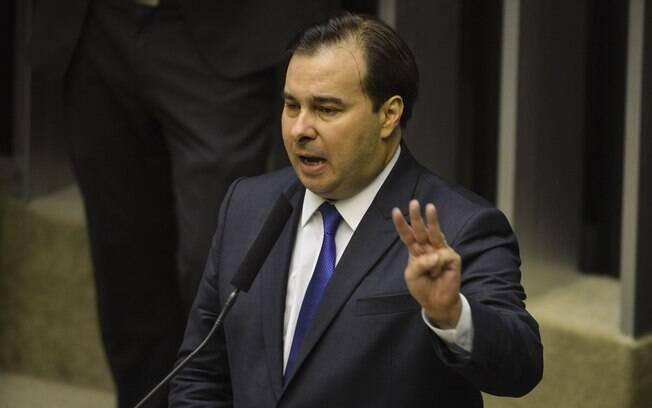 O presidente da Câmara, Rodrigo Maia, quer antecipar votação da reforma da Previdência
