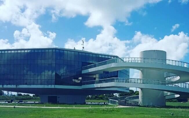 A Estação Cabo Branco é um lugar de João Pessoa que promove atividades culturais e entretenimento aos turistas