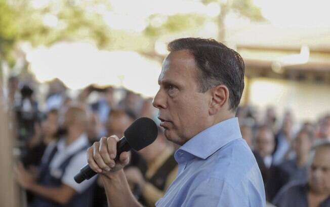 João Doria discursou a favor da reforma da Previdência nesta sexta-feira (5), em Campos do Jordão