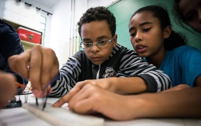Alunos do quinto ano do ensino fundamental apresentaram média maior do que aqueles do nono ano