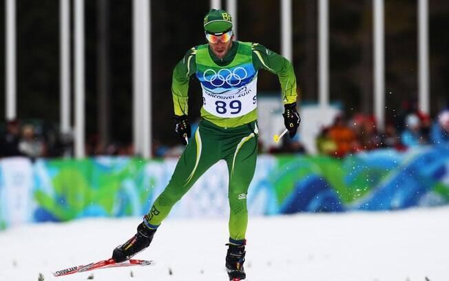 Leandro Ribela é mais um brasileiro com  índice para os Jogos de Sochi 2014. Será sua  segunda Olimpíada