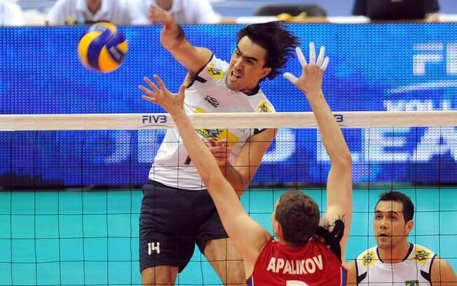Rodrigão tem no currículo ouro olímpico e mundial com a seleção masculina de vôlei de quadra