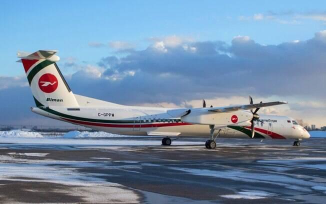 Biman Bangladesh recebe novo Dash 8-400