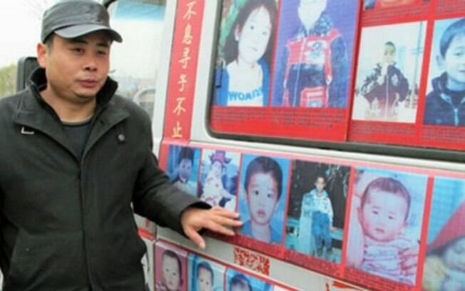 Polícia estima que 20 mil crianças sejam sequestradas a cada ano na China