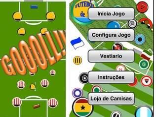 Futebol de 7 é jogo de botão para iPhone e Android. Grátis, com versão paga