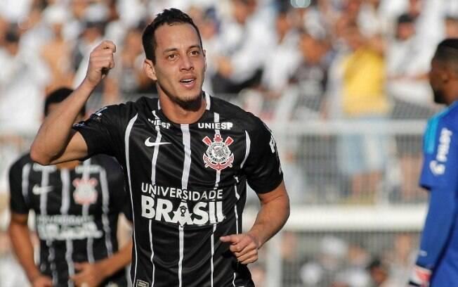 Rodriguinho fez dois gols do Corinthians na primeira final contra a Ponte Preta