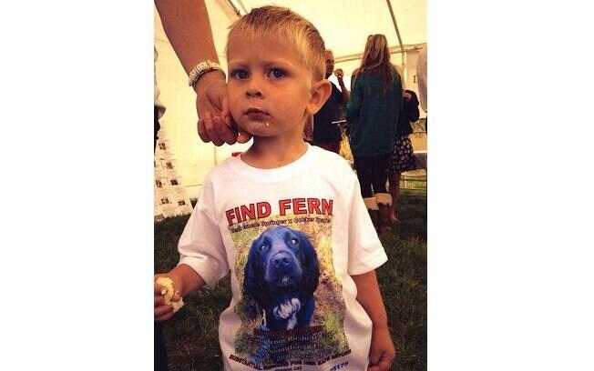 Ethan também aderiu à tag #FindFern para encontrar sua melhor amiga