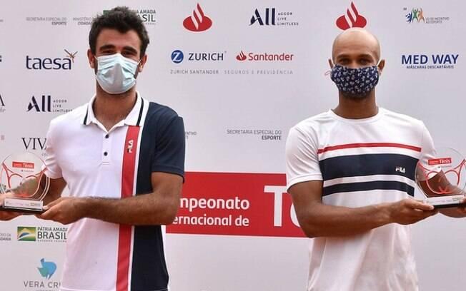 Franceses conquistam ttulo de duplas no Campeonato Internacional de Tnis