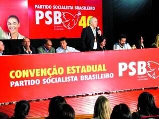 Adiado. Em votação simbólica, delegados do PSB decidem deixar nas mãos da executiva estadual a definição para as eleições deste ano