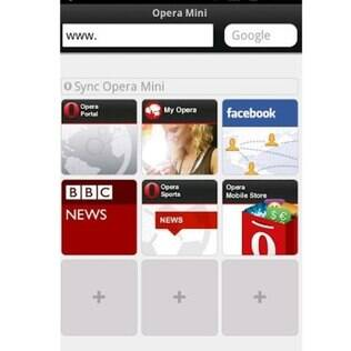 Recurso agrupa as páginas na área inicial do navegador