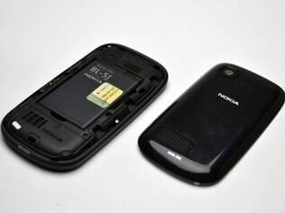 Bateria do Asha pode durar até dois dias com uso moderado do aparelho