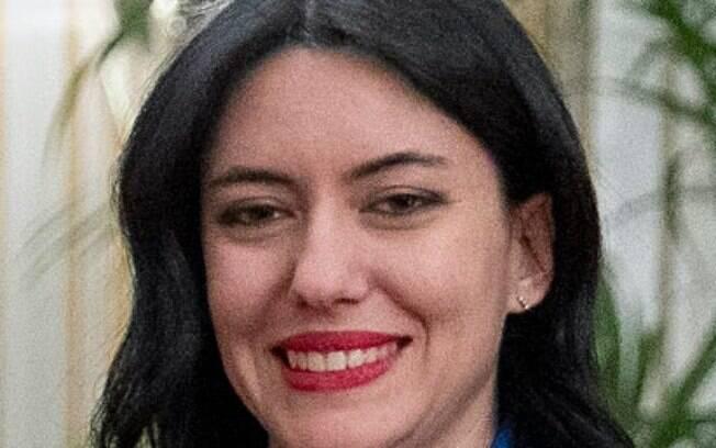 A ministra Lucia Azzolina
