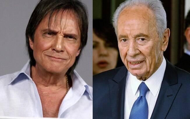Roberto Carlos e Shimon Peres têm encontro marcado em Jerusalém