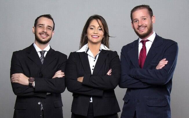 Mariane Morelli e os irmãos Alberto (à esquerda) e Carlos Moretto (direita) investiram tudo para criar líder em suplementos
