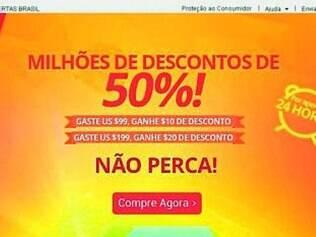 Brasileiros também puderam comprar no Dia dos Solteiros chinês