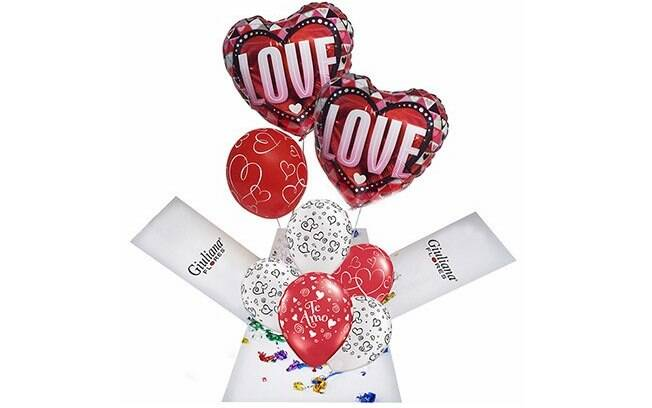 Encanthe Box Balões Love; Por: R$ 235,90 em até 3x de R$ 78,63