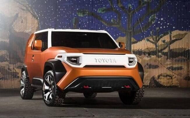 Eis o visual que servirá de inspiração para o SUV da Toyota para 2021. Novidade deverá vir ao Brasil