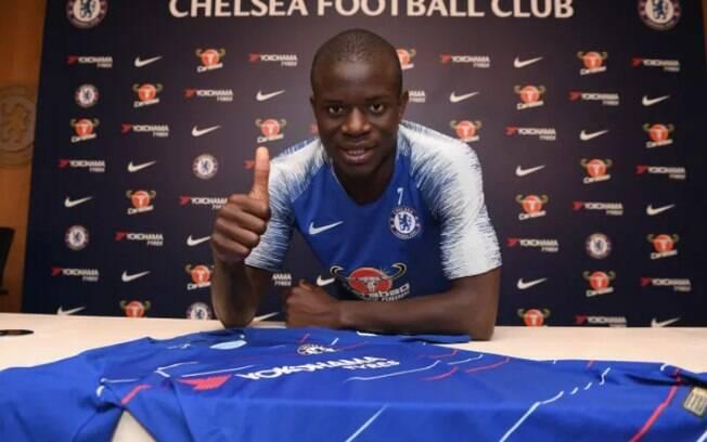 Kanté é um dos jogadores de maior salário no Chelsea