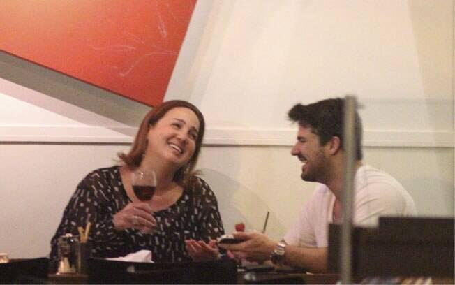 Cláudia Jimenez e Leonardo Moça
