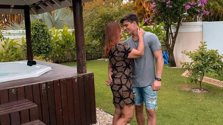 Nadine e Tiago Ramos se separaram em junho de 2020