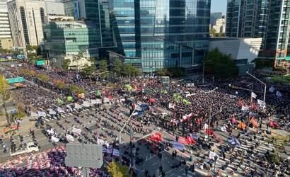 Coreia do Sul: cerca de 500 mil trabalhadores entram em greve
