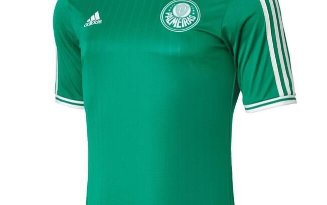 A nova camisa 1 do Palmeiras