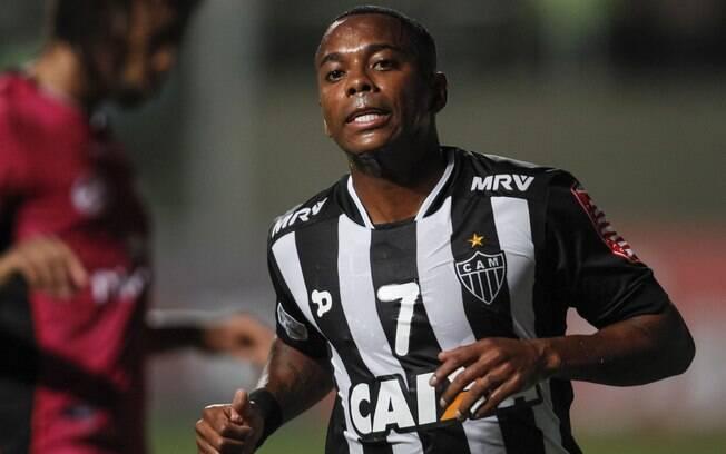 Revelado pelo Santos, o último clube de Robinho foi o Atlético-MG