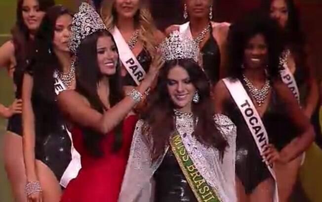 Miss Ceará Melissa Gurgel é coroada Miss Brasil 2014