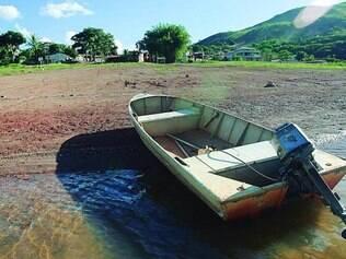 Vazios. Os reservatórios de Furnas estão tão secos que até o turismo na região foi prejudicado