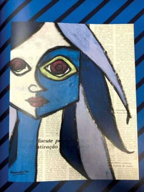 INÍCIO DE CARREIRA Romero pintava em folhas de jornal nas ruas de Miami até ser decoberto por um marchand que o levou para as galerias de arte
