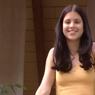 Mel Lisboa como a personagem Anita