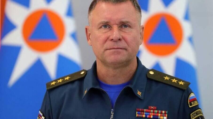 Ministro de emergências da Rússia
