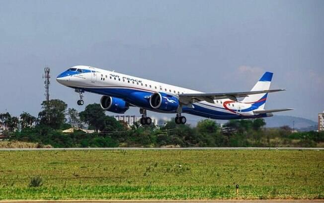Embraer entrega primeiro E195-E2 para Air Peace