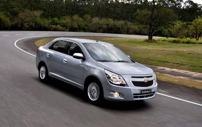 Chevrolet Cobalt 2015 desvalorizou apenas 0,08% em um ano, de acordo com o estudo da AutoAvaliar