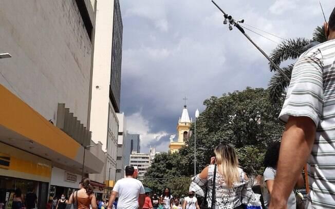 Feriado em Campinas ser de tempo nublado e chuvoso