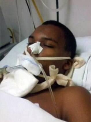 Peterson Ricardo de Oliveira, 14, estava em coma desde a última semana