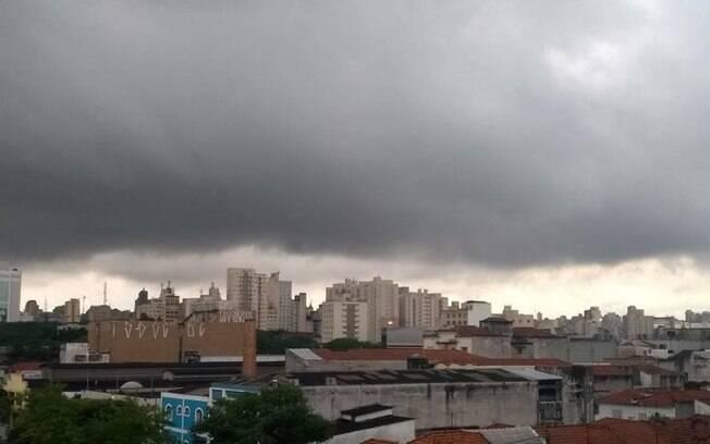 Todo o estado de São Paulo tem risco de temporal