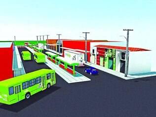 Obras.  Nova estação será construída para beneficiar o trânsito e os moradores da região do Riacho
