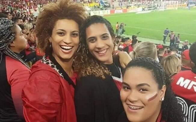 Marielle Franco gostava de ir no Maracanã assistir os jogos do Flamengo