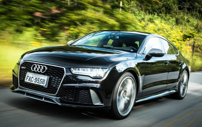 audi rs7 performance  aceleramos o carro do neymar